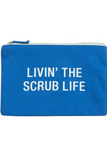 About Face Scrub Life Cosmetic Pouch