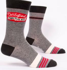 Blue Q Certified Pain In The Ass Men's Socks