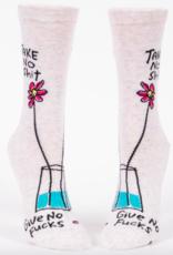 Blue Q Take No Sh*t Give No F*cks Women's Socks