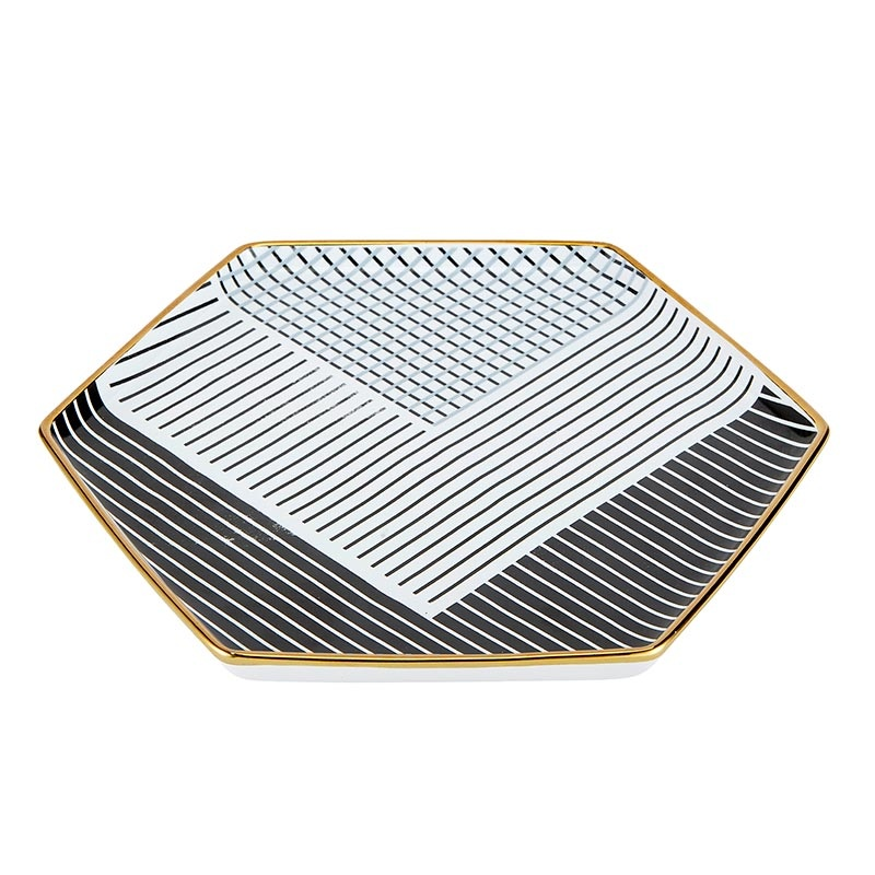 Slant Hexagon Mug & Saucer Set - Nap All Day