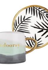 Slant Artisanal Mug & Saucer Set - Indoorsy