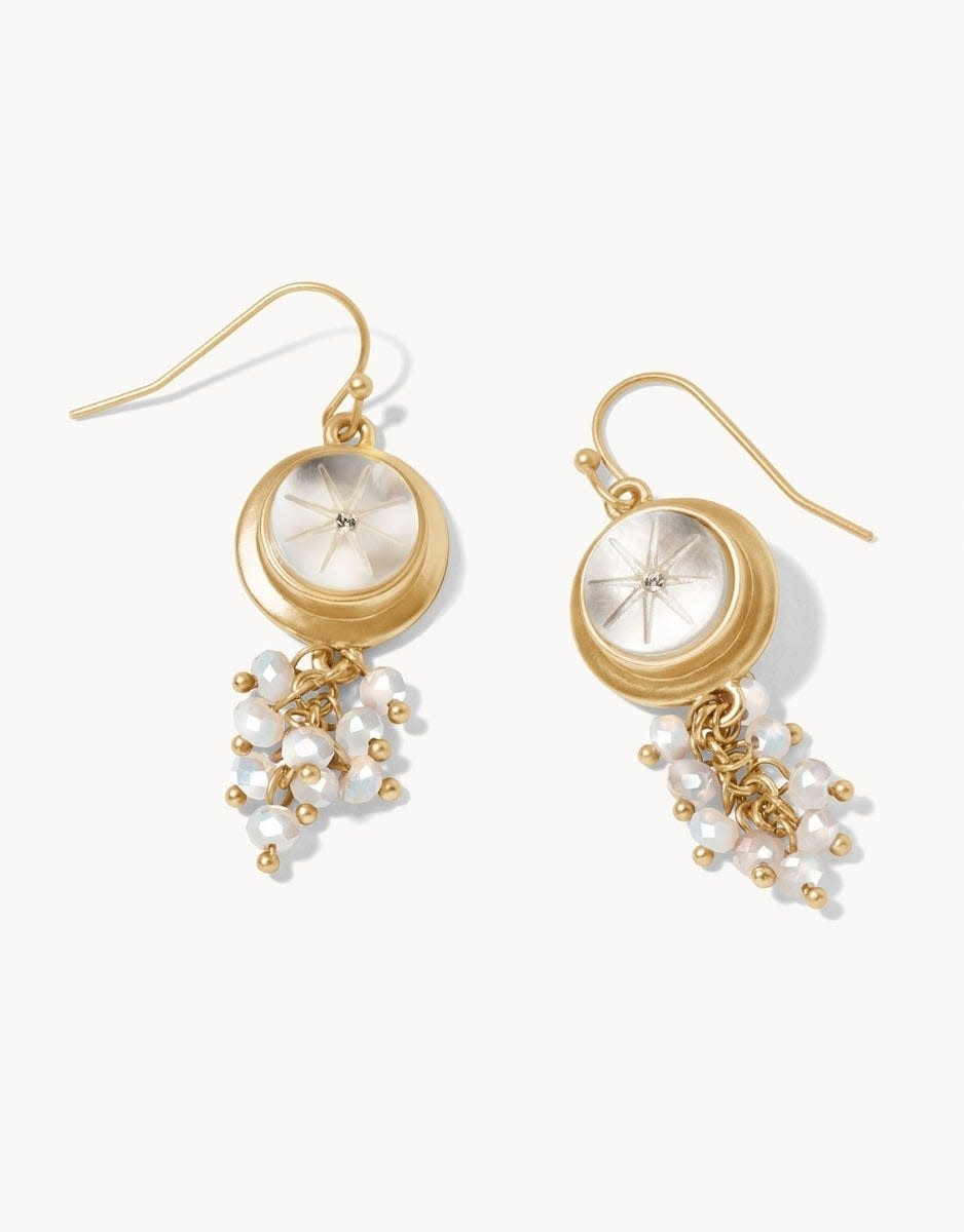 Spartina Spartina Lea Carved Earrings
