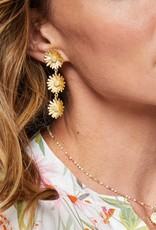 Spartina Daisy Dangle Earrings