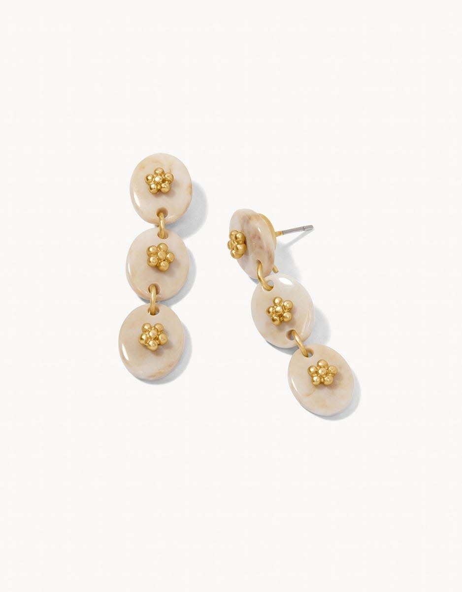 Spartina Harbor Linear Resin Earrings