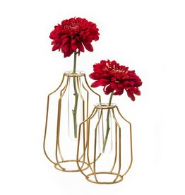 Chive Test Tube Wire Base Vase