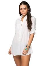 Boyfriend Shirt White/White
