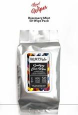 Distill Distill Sanitizing Elixir 50 Wipes - Rosemary Mint
