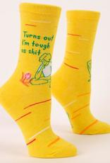 Blue Q Tough As Shit Women's Socks
