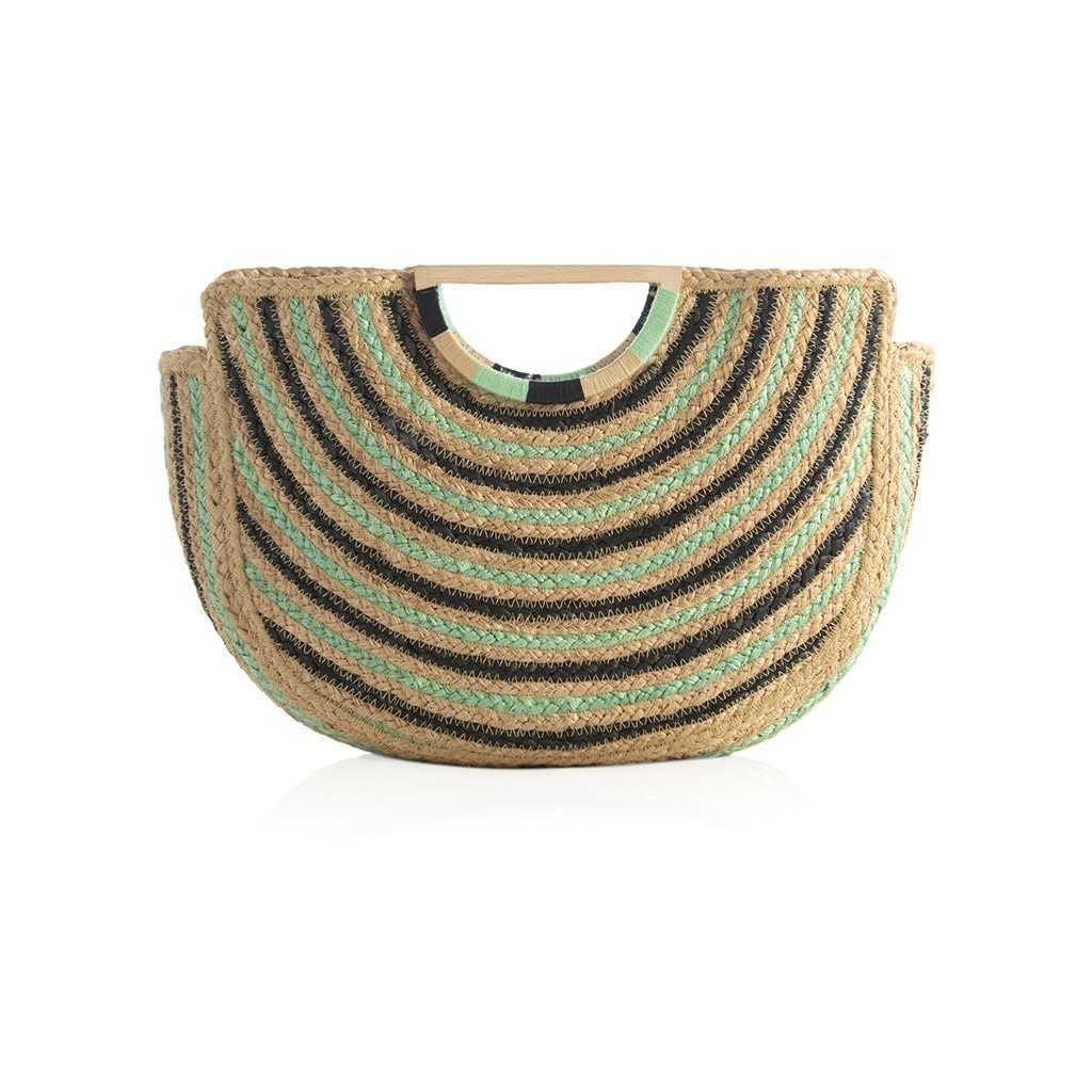 Shiraleah Capri Top Handle Bag Turquoise
