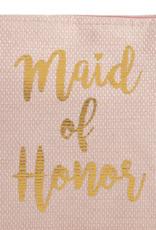 Shiraleah Maid Of Honor Zip Pouch Blush