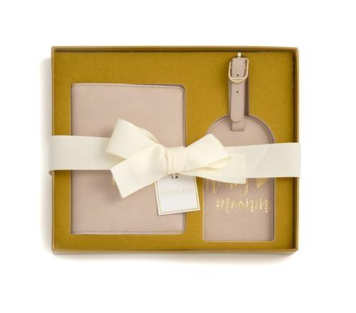 "Shiraleah ""Miss To Mrs/Honeymoonin"" Passport And Luggage Tag Gift Se"