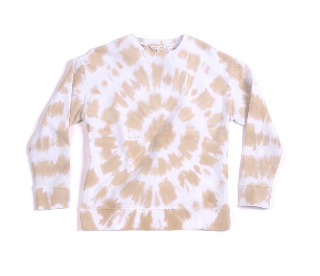 Shiraleah Cali Tie Dye Sweatshirt Blush