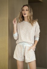 Shiraleah Kiara Leopard Print Sweatshirt