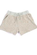 Shiraleah Kiara Leopard Print Shorts