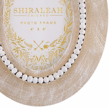 """Shiraleah California Oval 4"""" X 6"""" Picture Frame"""