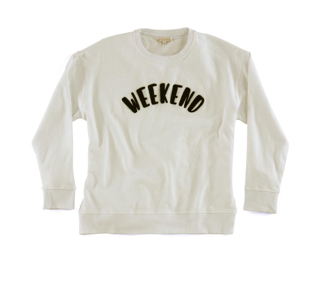 """Shiraleah """"Weekend"""" Sweatshirt"""