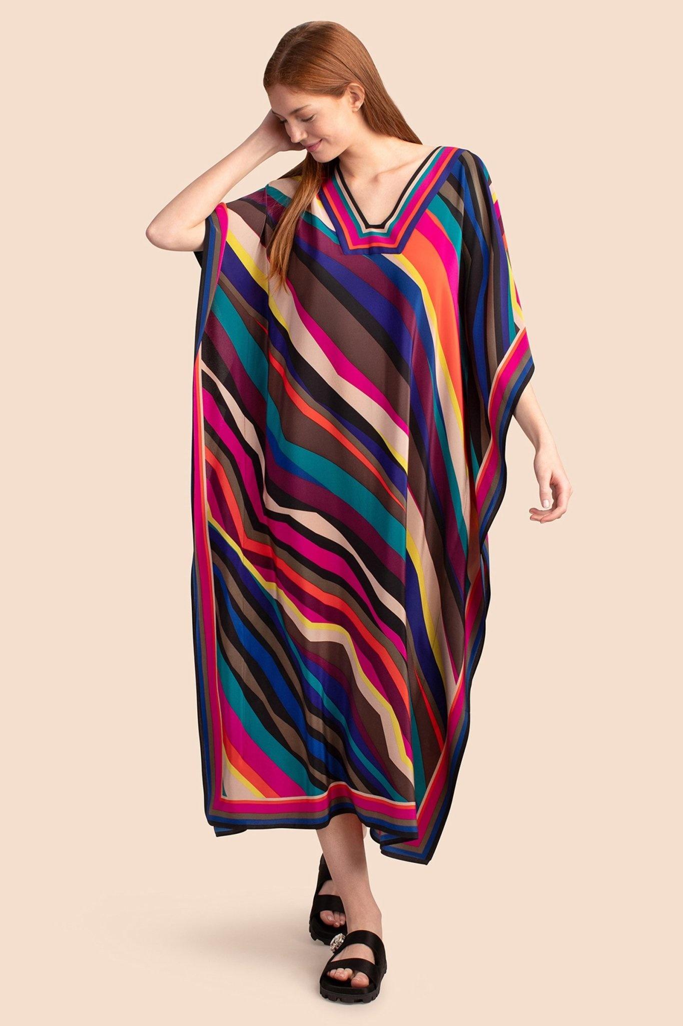 Trina Turk Theodora Maxi Dress Wavelength