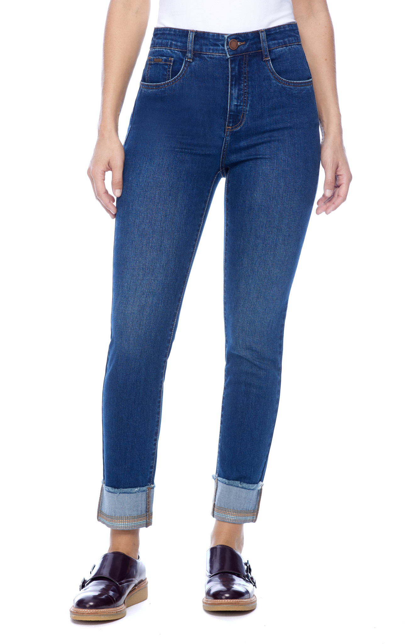French Dressing Suzanne Cigarette Ankle Jean
