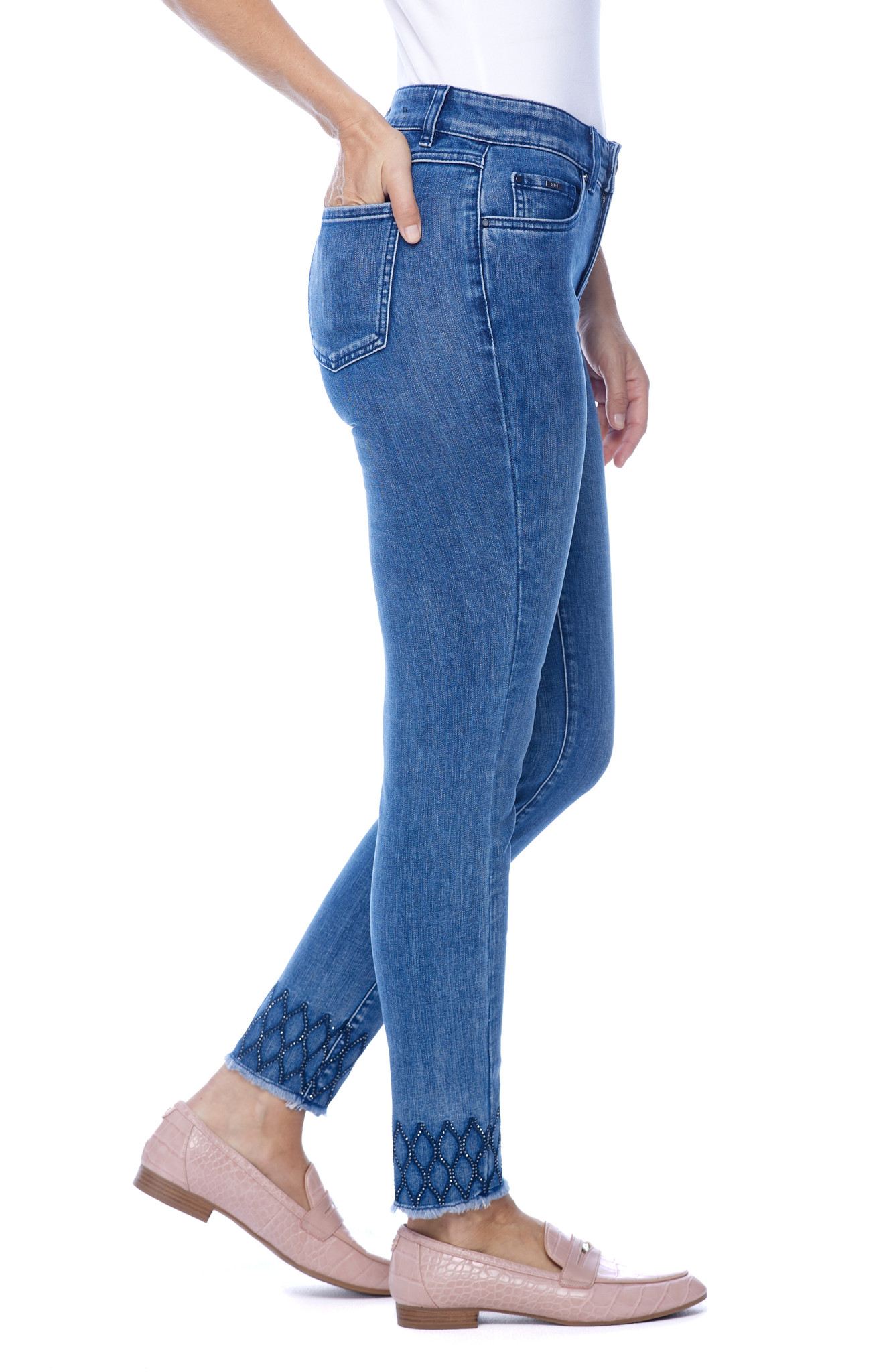 French Dressing Christina Ankle Jean