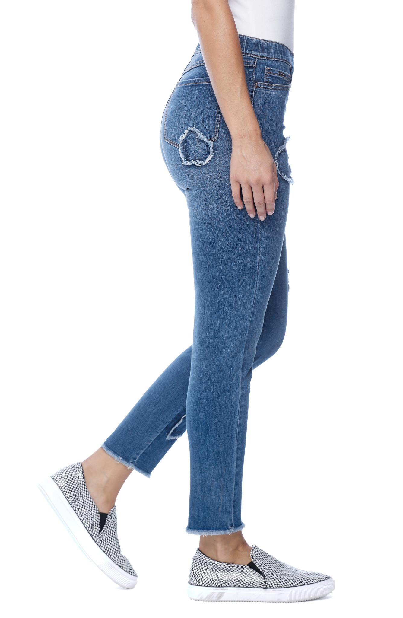 French Dressing Pull On Cigarette Leg Jean