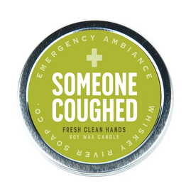 Whiskey River Someone Coughed Emergency Ambiance Travel Tin