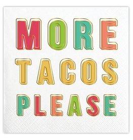 Slant More Tacos Please Napkins 20 CT