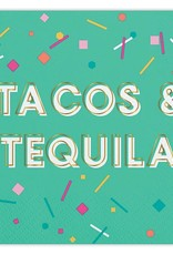Slant Tacos and Tequila Napkins 20 CT
