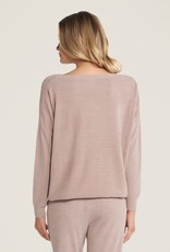 Barefoot Dreams Slouchy Pullover Faded Rose