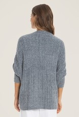 Barefoot Dreams Cable Shrug Pacific Blue