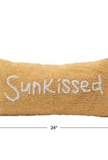 "24""L x 12""H Lumbar Pillow ""Sunkissed"""