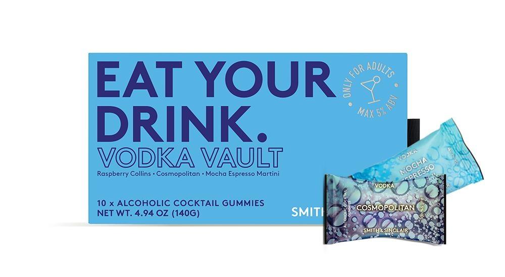 Smith & Sinclair Vodka Vault Alcohol Cocktail Gummies