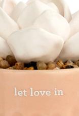 Demdaco Succulent Oil Diffuser - Let Love In