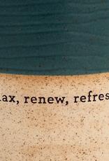 Demdaco Succulent Oil Diffuser - Relax Renew Refresh