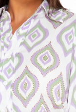Skemo Java Maxi Shirt Dress Lilac
