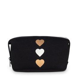 Haute Shore Erin Cosmetic Case Tri Heart