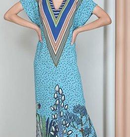 Blank Kesha Dress Blue
