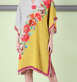 Blank Amireya Kaftan Yellow One Size