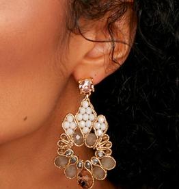 Zenzii Crystal Teardrop Earring