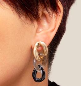 Zenzii Chain Drop Earring