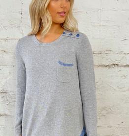 Zaket & Plover Marl Combo Sweater