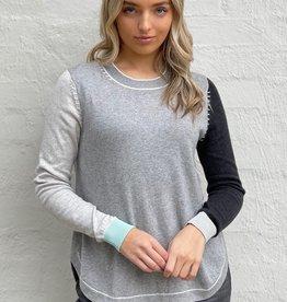 Zaket & Plover Block Color Sweater