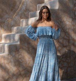 Skemo Skemo Romantic Dress Blue