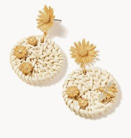 Spartina Daisy Picnic Earrings