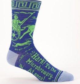 Blue Q Mens Socks Microbrewery