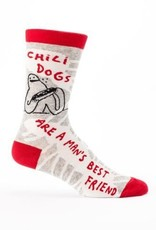 Blue Q Men's Socks Chili Dogs