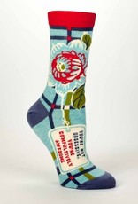 Blue Q Womens Socks Compulsively Awesome
