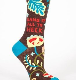 Blue Q Womens Socks Dang It
