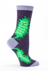 Blue Q Womens Socks Kale