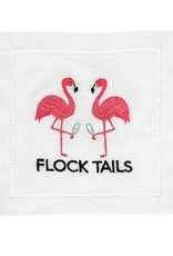 August Morgan Flock Tails Cocktail Napkins Set of 4