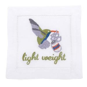 August Morgan Light Weight Cocktail Napkins Set of 4